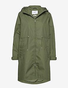 Rey Jacket - rainwear - green