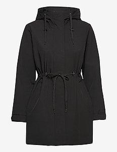 Hailey Coat - parkas - black