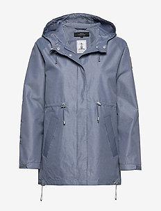 RAGLAN JACKET - regenbekleidung - blue