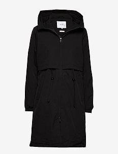 Vuono Coat - parkacoats - black