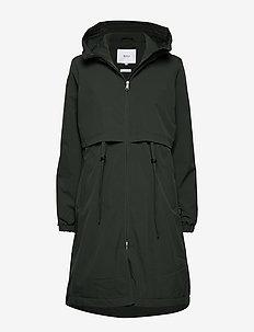Vuono Coat - DARK GREEN