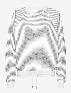 Hilla Light Sweatshirt - WHITE