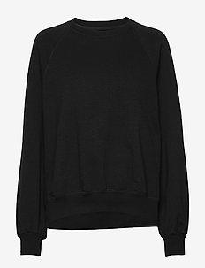 Etta Light Sweatshirt - BLACK