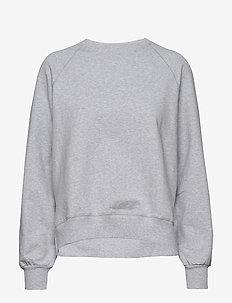 Etta Light Sweatshirt - LIGHT GREY