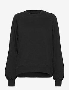 Etta Light Sweatshirt - sweatshirts - black