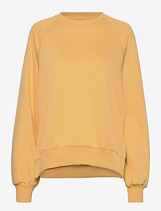 Etta Light Sweatshirt - sweats - ochre