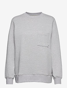 Meri Sweatshirt - swetry - light grey