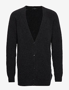 FARAWAY CARDIGAN - tricots basiques - anthracite