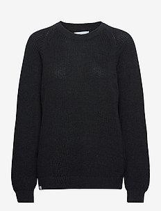 Linnea Knit - jumpers - dark navy