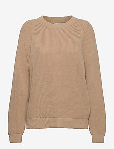 Linnea Knit - jumpers - khaki