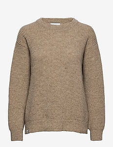 Disa Knit - swetry - beige