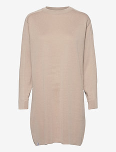 Isla Dress - neulemekot - light beige