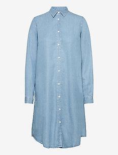 Pihla Shirt Dress - shirt dresses - washed blue