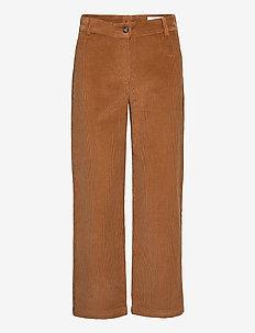 Islet Trousers - bukser med lige ben - camel