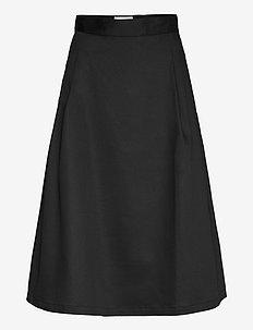 Gaia Skirt - spódnice do kolan i midi - black