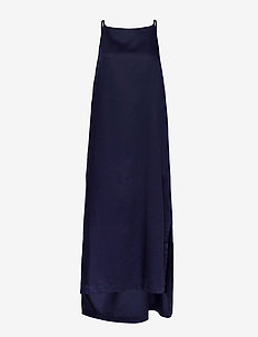 Tara Dress - sukienki do kolan i midi - dark navy