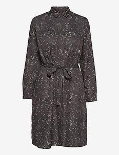 Aava Dress - sommerkjoler - black hay