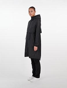 Den Jacket - płaszcze przeciwdeszczowe - black
