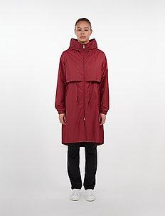 Den Jacket - płaszcze przeciwdeszczowe - ruby
