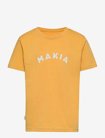 Sienna T-Shirt - korte mouwen - ochre