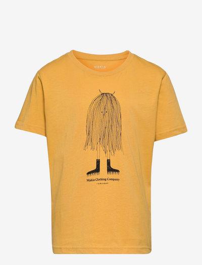 Moshpit T-Shirt - korte mouwen - ochre
