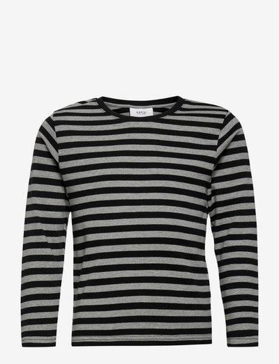 Verkstad Long Sleeve - manches longues - grey-black