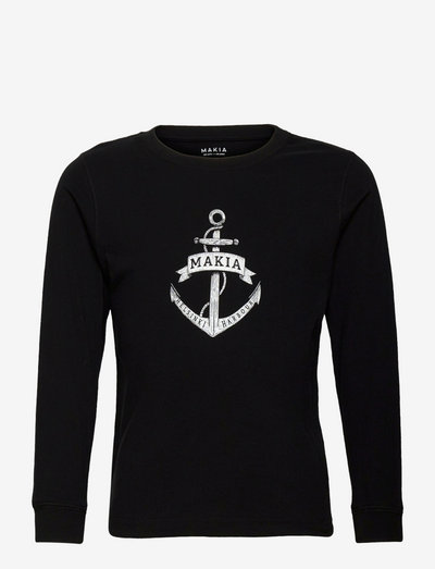 Skippers Long Sleeve - manches longues - black