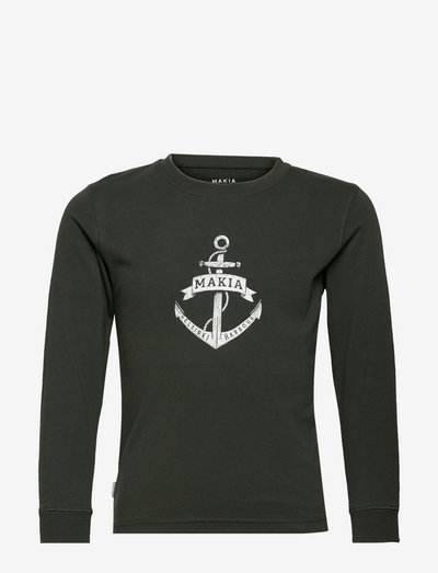 Skippers Long Sleeve - manches longues - dark green