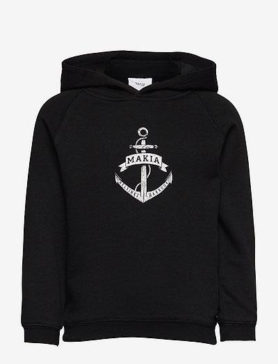 Skippers Hooded Sweatshirt - pulls à capuche - black
