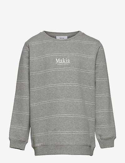 Aatos Sweatshirt - sweat-shirt - grey