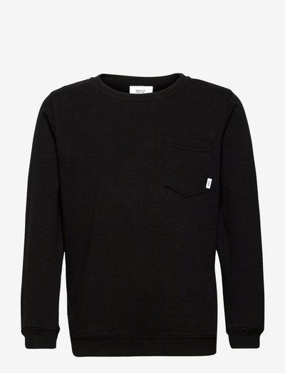 Pocket Sweatshirt - sweatshirts - black