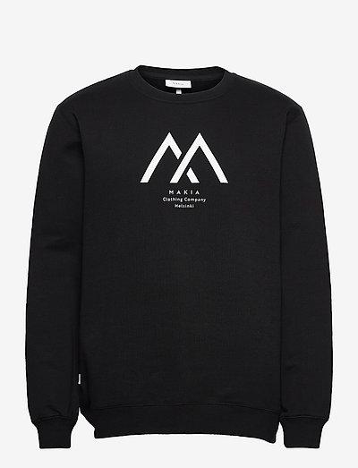 Seafarer Light Sweatshirt - vaatetus - black