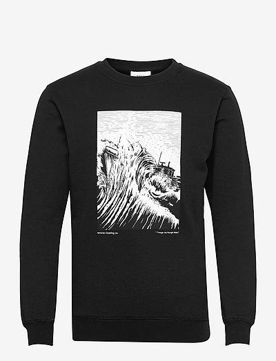 Turbulent Light Sweatshirt - truien - black