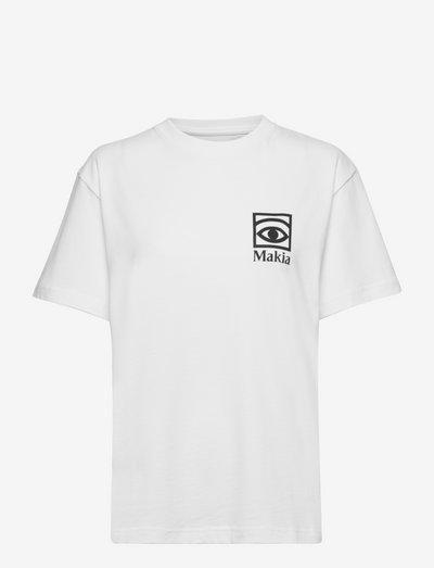 Ögon T-shirt - t-shirts - white