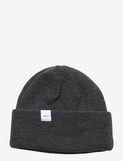 Merino Thin Cap - pipot - dark grey
