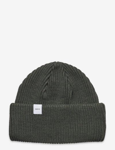 Merino Cap - czapka - moss