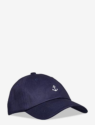 Small Anchor Cap - casquettes - navy