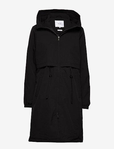 Vuono Coat - parkaser - black