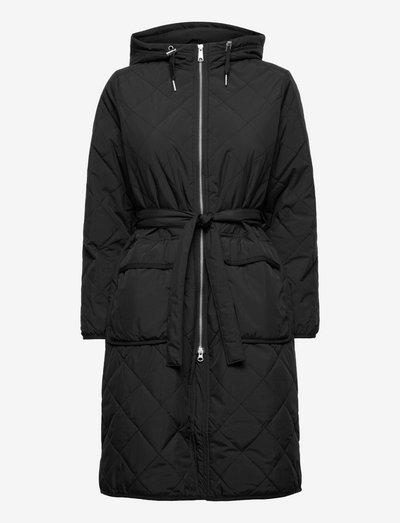 Aura Coat - vinterfrakker - black