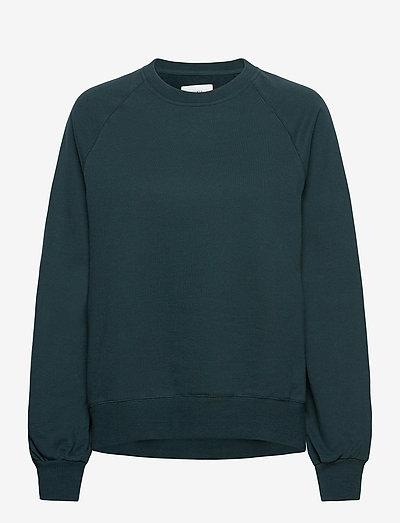 Etta Light Sweatshirt - sweatshirts en hoodies - dark teal