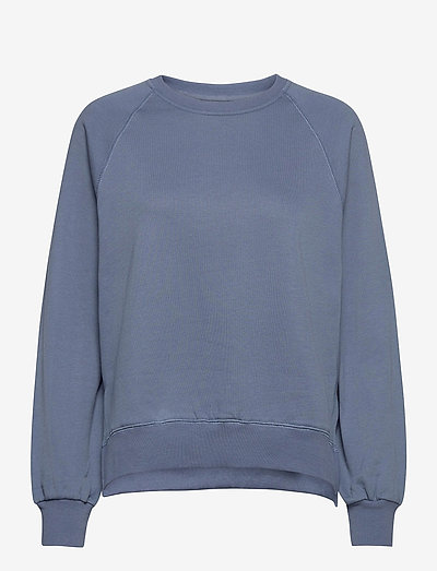 Etta Light Sweatshirt - sweatshirts en hoodies - vintage indigo