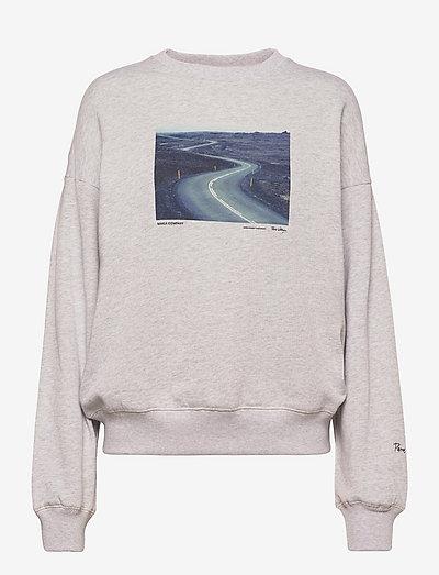 Route Sweatshirt - sweatshirts en hoodies - light grey