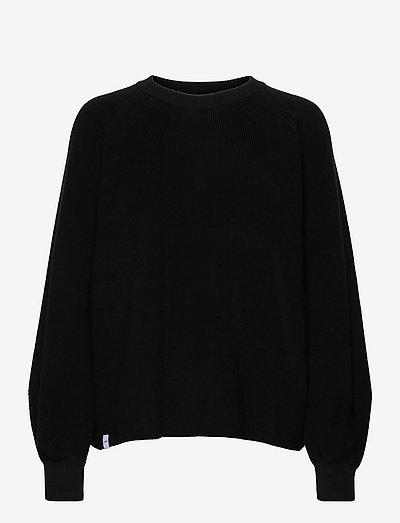 Ronya Knit - truien - black