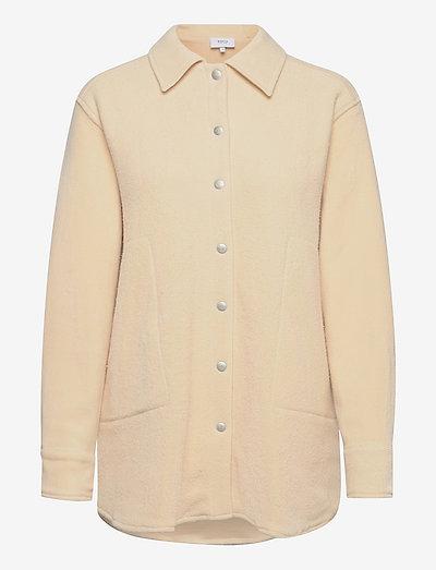 Luna Overshirt - kleding - light beige