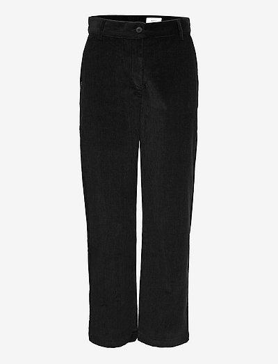 Islet Trousers - broeken med straight ben - black