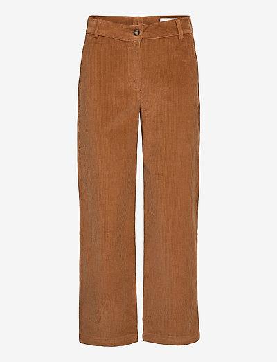 Islet Trousers - broeken med straight ben - camel