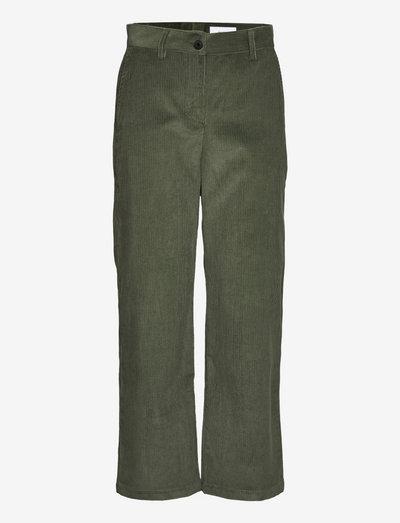 Islet Trousers - broeken med straight ben - thyme