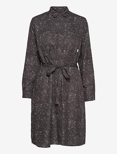 Aava Dress - midi dresses - black hay