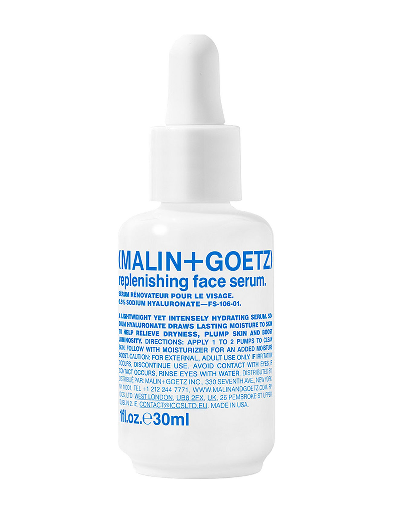 Image of Replenishing Face Serum Hudpleje Serum Nude MALIN+GOETZ (3082506075)