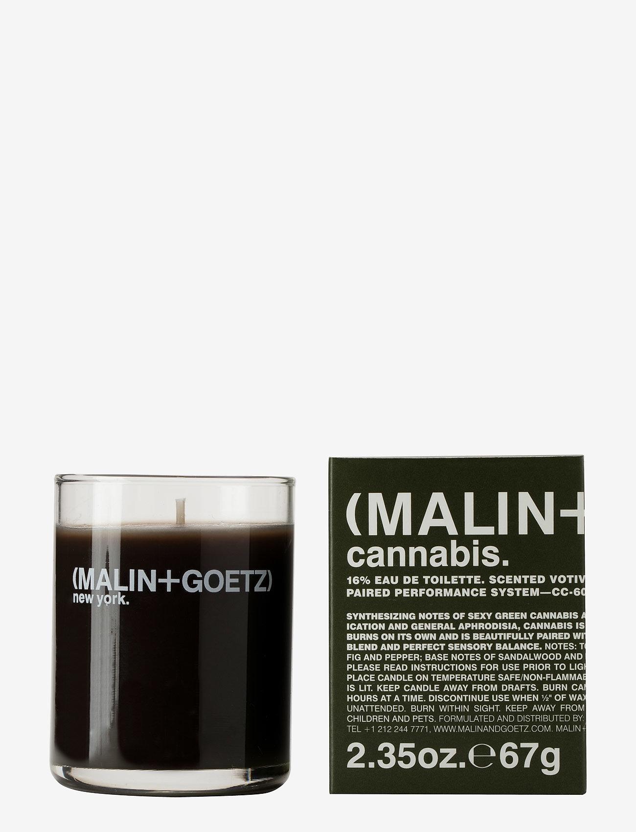 Malin+Goetz - Cannabis Votive Candle - doft - no colour - 0